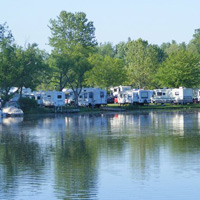 The Premier Campground Nestled Along Fish Creek We Offer 5 Way S A Laundromat Clean Restrooms Children Playground Boat And Canoe Als